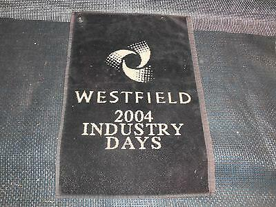 Old Vtg WESTFIELD 2004 Industry Days Golf Towel Golfers Country Club Advertising