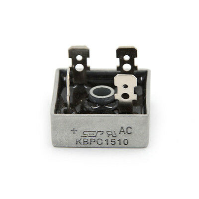 New KBPC5010 1000 Volt Bridge Rectifier 50 Amp 50A Metal Case Diode Bridge
