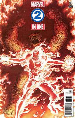 Marvel Two-In-One #1 Alex Ross 1:50 Variant Fantastic 4 Four Legacy Marvel