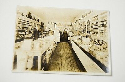 Antique Vtg Grocery General Mercantile Store Interior Photograph photo