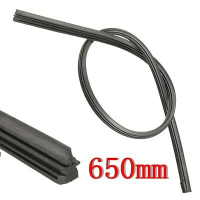 26'' 6 mm Silicone Cut Size Universal Vehicle Replacement Wiper Blade Refill