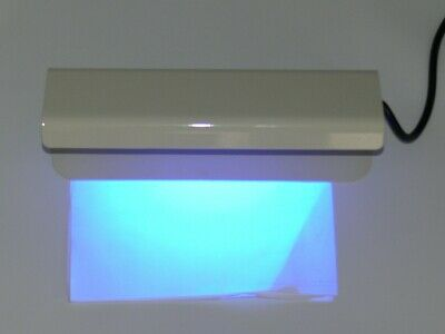 Fraud Detection Lamp UV Light for Signatures Bank Notes Documents Currency