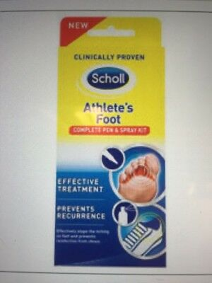 Scholl Athlete's Foot  Pen & Spray Kit - Expiry JUNE 2018