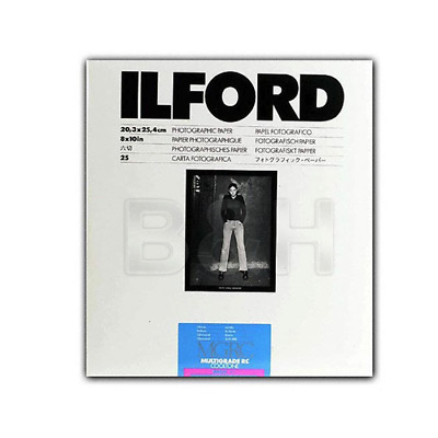 Ilford Multigrade Cooltone Resin Coated (RC) Black & White Paper 8 x 10', Glossy