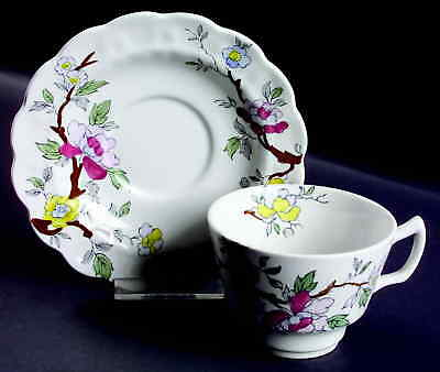 Booths CHINESE TREE Cup & Saucer 37967