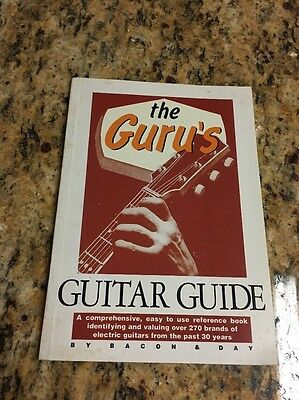 The Guru's Guitar Guide by Bacon and Day, paperback 1990