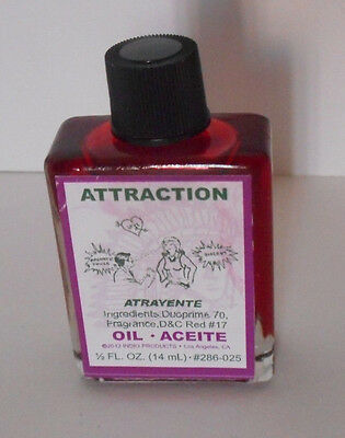 Indio Oil ATTRACTION 1/2 oz 14 ml  (attract love,money,luck ect.)