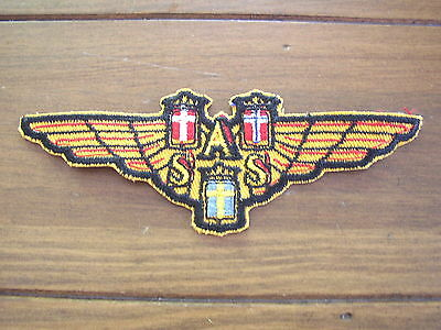 SAS Scandinavian Airlines Cloth Patch