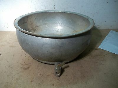 Old Cream Separator Bowl  for Flower Pot Garden Planter