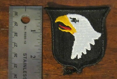 "101st Airborne Division 2.5"" Original Vintage Iron-On Embroidered Cloth Patch"