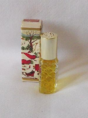 Vintage Avon Somewhere Perfume Rollette 99% Full Original Holiday Box