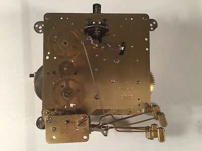 Antique / Vintage eight Day Clock Movement ( Parts Or Repair)