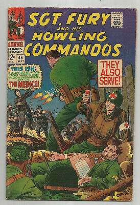 SGt. FURY AND HIS HOWLING COMMANDOS # 46 * 1967