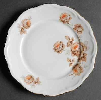 Mitterteich NORWAY ROSE Bread & Butter Plate 8600170