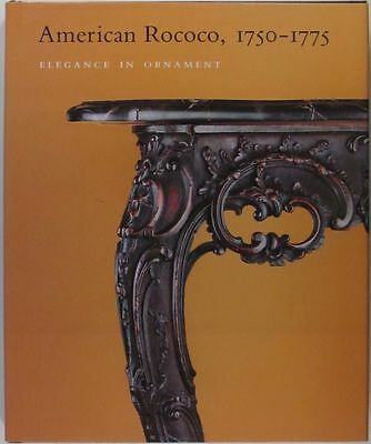 American Colonial Chippendale Rococo Furniture & Silver & Art, + - hardcover