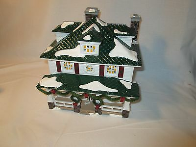 Department 56 Snow Village Crosby House #5505-6 In Box with Light