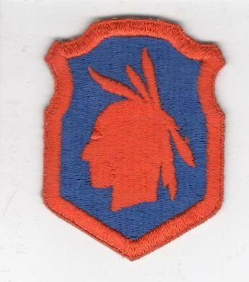 WW 2 US Army 98th Infantry Division Scared Cheek Patch Inv# B642