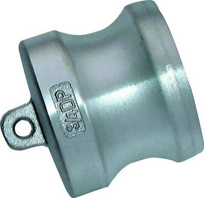 """DP48SS Cam & Groove - Stainless Steel Dust Plug Size 3"""""""