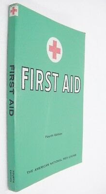 American Red Cross First Aid Textbook 1957 Revised Fourth Edition Vintage