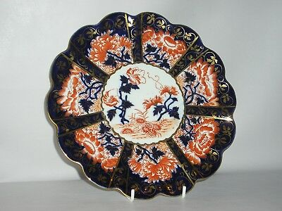 Wileman & Co, Foley China works pre Shelley Imari Decorated Plate 6664.