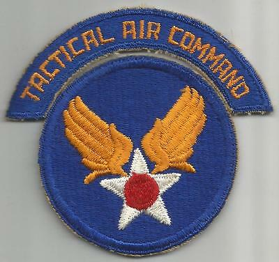WW 2 US Army Air Forces Tactical Air Command Patch & Tab Inv# 107