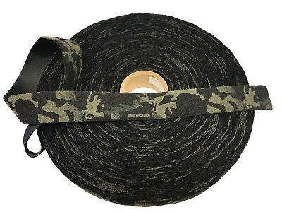 "50mm - 2"" Crye Multicam Black VELCRO® - Loop ( Military Webbing MTP"