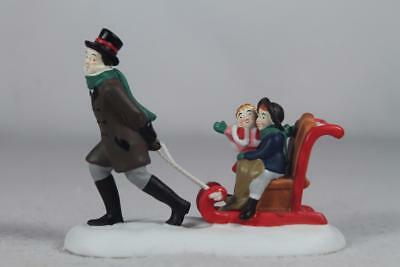 Dept 56 Dickens' Accessory 'Sledding At The Fair' #4044788 New In Box