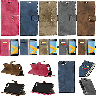 KS4 For Various Series Phone Retro style Wallet ID Card Leather Case Cover Skin