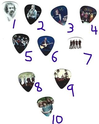 THE EAGLES Graphic Guitar Pick ~Your Choice~ FREE SHIPPING / BUY 3 GET 3rd FREE