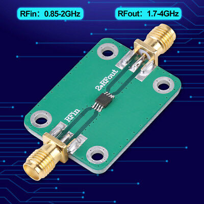 RF Microwave Radio Frequency Doubler Multiplier Input 0.85-2GHz,Output 1.7-4GHz