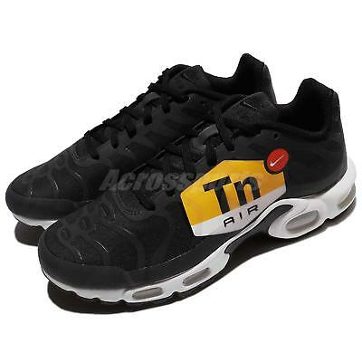 8e1932e3fc Nike Air Max Plus NS GPX TN Big Logo Black White Men Running AJ0877-001