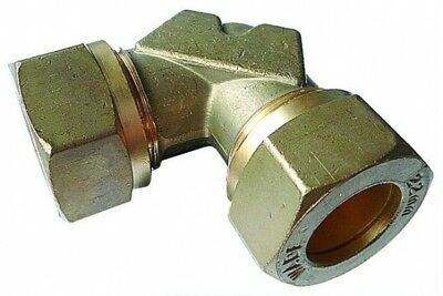 WA-ME115 Wade Brass Equal Elbow Tube OD 15mm