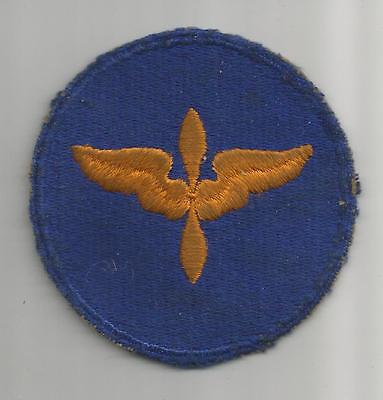 WW 2 US Army Air Forces Cadet Greenback Patch Inv# A305