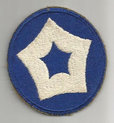 WW 2 US Army 5th Service Command Greenback Patch Inv# A323