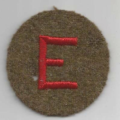 WW 2 US Army Artillery Efficiency Wool Patch Inv# TH1072