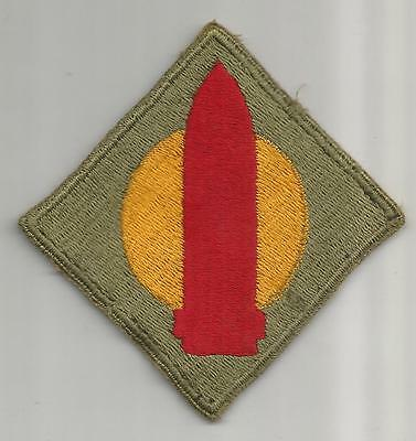 WW 2 US 1st Coast Artillery District Greenback Patch Inv# A350