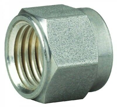 """761L-SS-1 Stainless Steel Nut Imperial Tube O/D 1"""""""