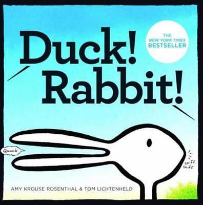NEW Duck! Rabbit! By Amy Krouse Rosenthal Board Book Free Shipping