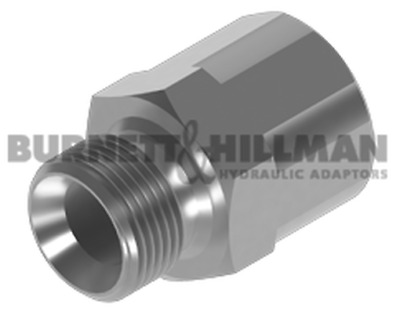 "Burnett & Hillman BSP 1/4"" Male x BSP 1/8"" Fixed Female Adaptor 