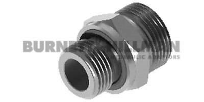 METRIC Male x METRIC Male Captive Seal S Series BODY ONLY Compression Fittings