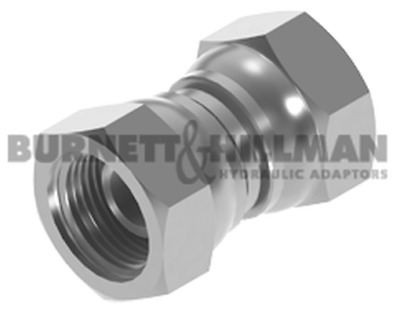 "Burnett & Hillman BSP 1/2"" Swivel Female x BSP 1/2"" Swivel Female Adaptor 