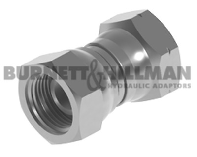 "Burnett & Hillman BSP 3/8"" Swivel Female x M20 1.5mm p Swivel Fem Adaptor 