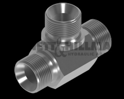 "BSP Male Tee for Bonded Seal Adaptors 2"" x 2"" x 2"""
