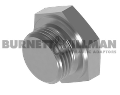 Burnett & Hillman METRIC Solid Plug 1.5mm Pitch Hydraulic Fitting