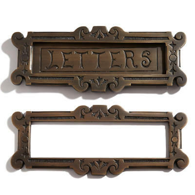 Signature Hardware Fairytale Solid Brass Letters Mail Slot