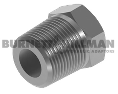 "Burnett & Hillman BSPT 3/8"" Male x BSP 1/8"" Fixed Female Bush Adaptor 