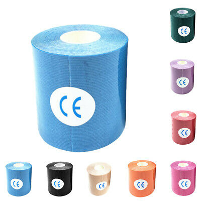 1 Roll Kinesiology Tape Sports Elastic Physio Knee Shoulder Body Muscle Support