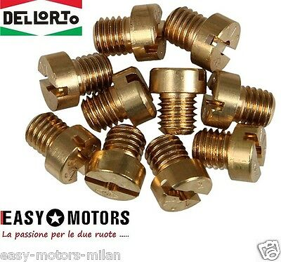 5314900_78 Kit 10 Getto Getti Carburatore Dell'orto 5Mm Phbg - Sha Da 75 Al 98