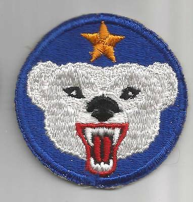 HTF Gray Features WW 2 US Army Alaskan Department Patch Inv# F318