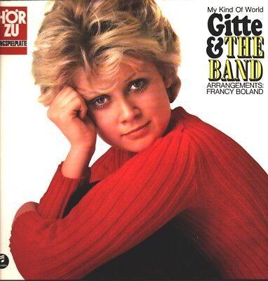 Gitte & The Band - My Kind Of World / LP